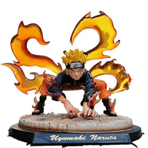 From HandMade Figura Kyubi Uzumaki Naruto Figura Animado Figura de acción