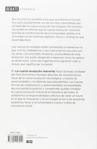 Resumen del libro de Klaus Schwab LA CUARTA REVOLUCIÓN INDUSTRIAL