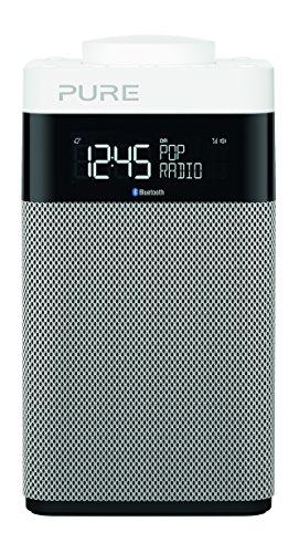 """Pure Pop Midi with Bluetooth Radio Portable Numérique Noir, Argent, Blanc - Radios Portables (Portable, Numérique, Dab, Dab+, DMB-R, FM, 87, 5-108 MHz, 4, 3 W, 7, 62 cm (3""""))"""