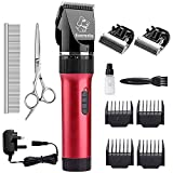 Everesta Dog clippers, Low Noise Rechargeable Cordless Pet Dogs and Cats Electric Grooming