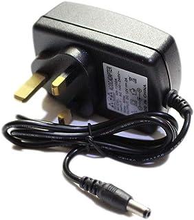 محول امداد الطاقة لمقبس UK تيار متردد 100-240 فولت الى تيار مستمر 12 فولت 1 امبير [H9230BS]