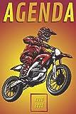 Agenda Moto 2020-2021: Agenda Escolar Motocross 2020 2021 | primaria Colegio secundaria estudiante semana vista | calendario planificador semanal ... septiembre de 2021 para niño niña moto cross