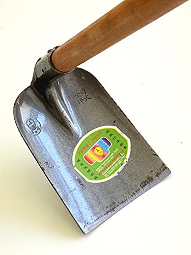 Solidaim Forged Warren Hoe,Professional Heavy Duty Handle for the Eye Hoe Head-Tough Pure Steel Forged Hoe, with 47.25-inch Wood Handle Overall in Length !.Simple Assembly Required !