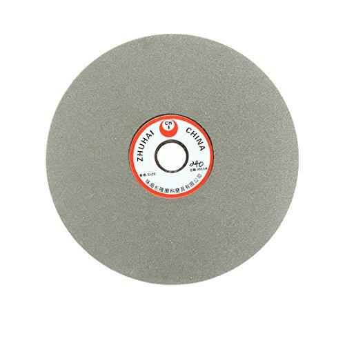 uxcell 6-inch Grit 240 Diamond Coated Flat Lap Wheel Grinding Disc Polishing Tool