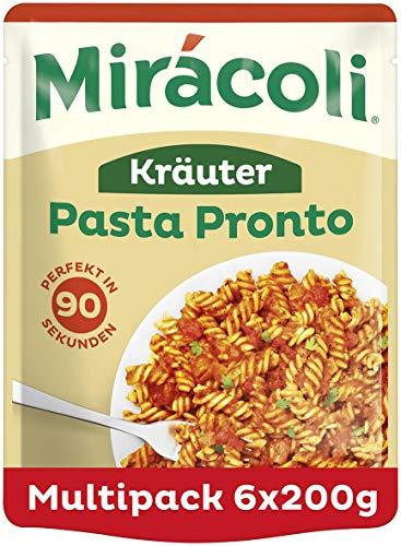 MIRÁCOLI Pasta Pronto Italienische Kräuter, 6 Packungen (6 x 200g)