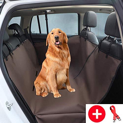 Camas para Perros Marrón Funda para Mascotas Sofa para Mascotas y Niños con Cinturón de Seguridad para Mascotas y Bolsa de Almacenamiento, Impermeable, Lavable, Antideslizante, Se Adapta a Todos Los