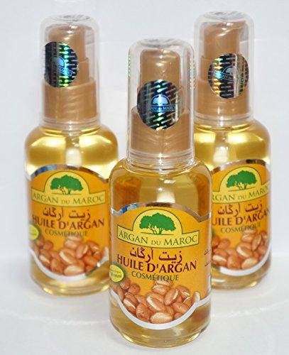 1 botella de Aceite de argan puro 60 ml spray