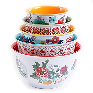 The Pioneer Woman Country Garden Nesting Mixing Bowl Set 10-Piece