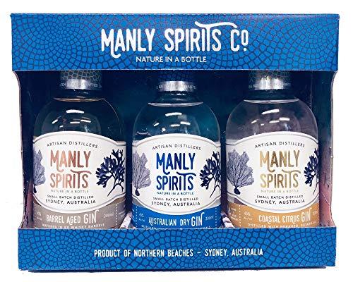 Manly Spirits Australian Dry, Coastal Citrus, Barrel Aged Gin (Whiskey)...