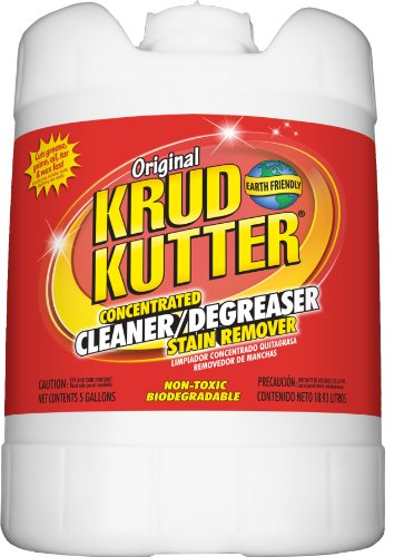 Krud Kutter KK05 Clear Original Concentrated Cleaner Degreaser/Stain Remover with No...