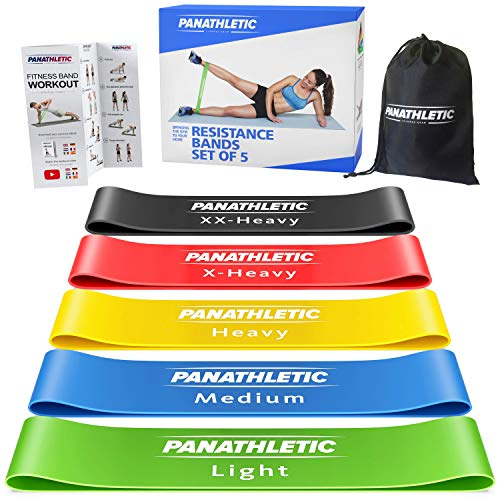Panathletic Bandas Elasticas Fitness Set 5 Gomas