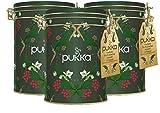Pukka Winter und Weihnachten Geschenkdose mit einer Auswahl an festlicher und feinster...
