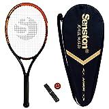 Racchetta da tennis Senston 27 '', racchetta da tennis professionale per adulti full carbon, inclusa borsa da tennis, overgrip e smorzatore di vibrazioni