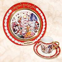 Disney(ディズニー)2012年 TDL プレート カップ&ソーサー Christmas Fantasy(クリスマスファンタジー)/でぃずにー不朽 名作
