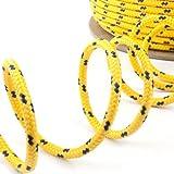 20m POLYPROPYLENSEIL 10mm GELB Polypropylen Seil Tauwerk PP Flechtleine Textilseil
