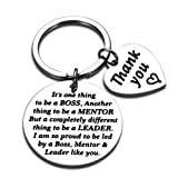 Boss Gifts for Christmas Men Women Office Keychain Appreciation Gifts for Supervisor Mentor Leader...
