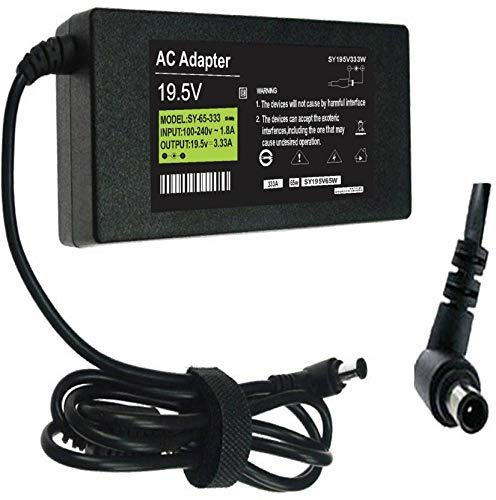 KEBILSHOP 19.5 Volt 4.7Amp 90 Watt Power Adapter Charger Compatible for Sony Led tv/Laptop