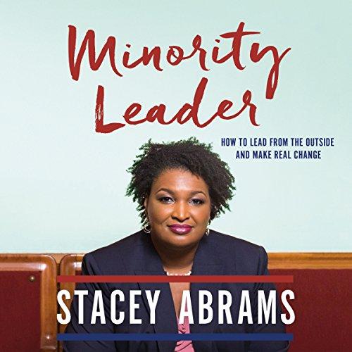 Minority Leader audiobook cover art