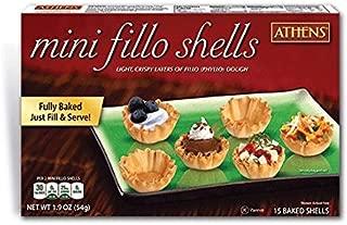 frozen mini fillo shells