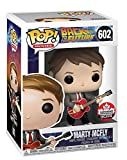 Funko Pop! Movies: Back to The Future - Marty Mcfly (with Guitar) Canadian Convention Exclusive #602
