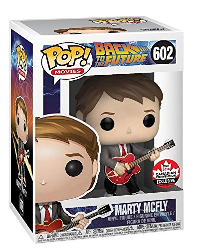 Funko Pop! Movies: Back to The Future - Marty Mcfly (with
