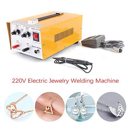OUKANING Punktschweißgerät 400W Pulse Sparkle Spot Welder Jewelry Gold Silver Platinum Welding Machine