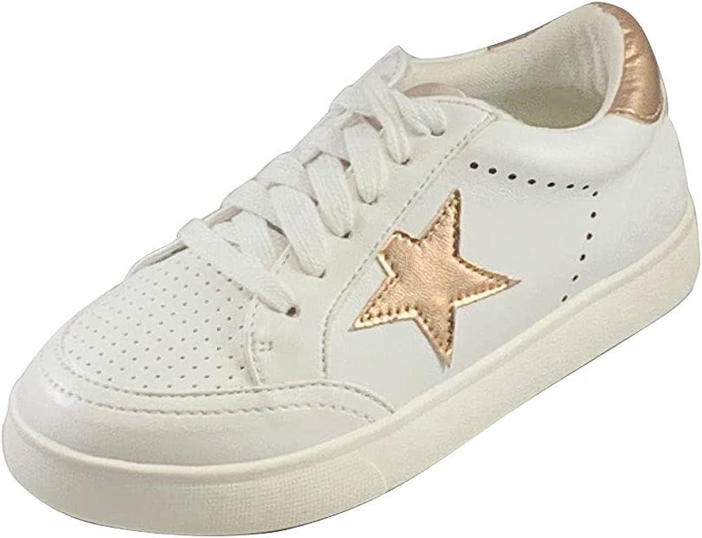MIA Sneakers W/Stars Alanis 1 White