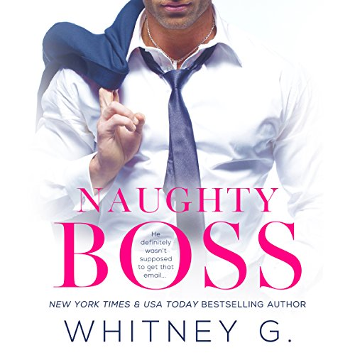 Naughty Boss audiobook cover art