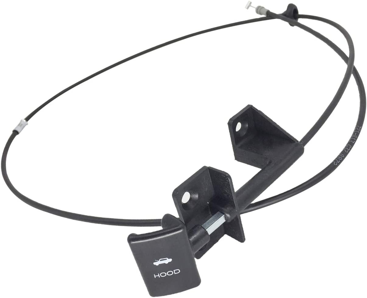 1 year warranty Japan's largest assortment PartsFlow Hood Release Cable For 198 1987-1996 Cherokee Jeep