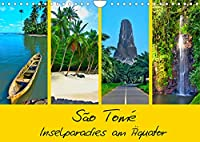 São Tomé - Inselparadies am Aequator (Wandkalender 2022 DIN A4 quer): Unbekanntes Afrika mitten im Atlantik (Monatskalender, 14 Seiten )