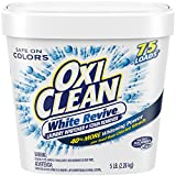 OxiClean White Revive Laundry Whitener + Stain Remover, 5 Pound
