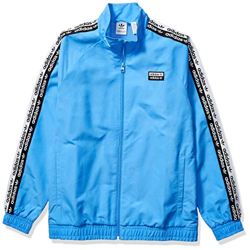 adidas Originals Damen Juniors V-ocal Track Top Jacket Jacke, Echtes Blau, Large