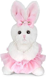 "Bearington Lil' Twirls Small Plush Stuffed Animal Bunny Rabbit Ballerina with Tutu, 6"""