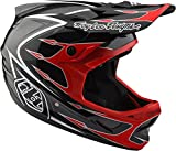 Troy Lee Designs Casco Integral Mtb 2018 D3 Composite Corona Rojo-Gris (L, Gris)