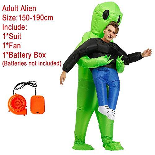 maofan Alien Opblaasbare Kostuums, Leuke Partij Kostuums, Mannen En Vrouwen Halloween Kostuums Alien 1