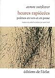 Heures rapiécées - Poèmes en vers et prose