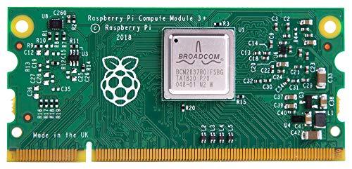 Raspberry Pi Compute Module 3+ Lite, Core Architecture ARM, Core Sub-Architecture Cortex-A53, Kit Contents Compute Module 3 Lite, Product Range Compute Module 3+, SVHC No SVHC (27-Juni 2018), Silikon