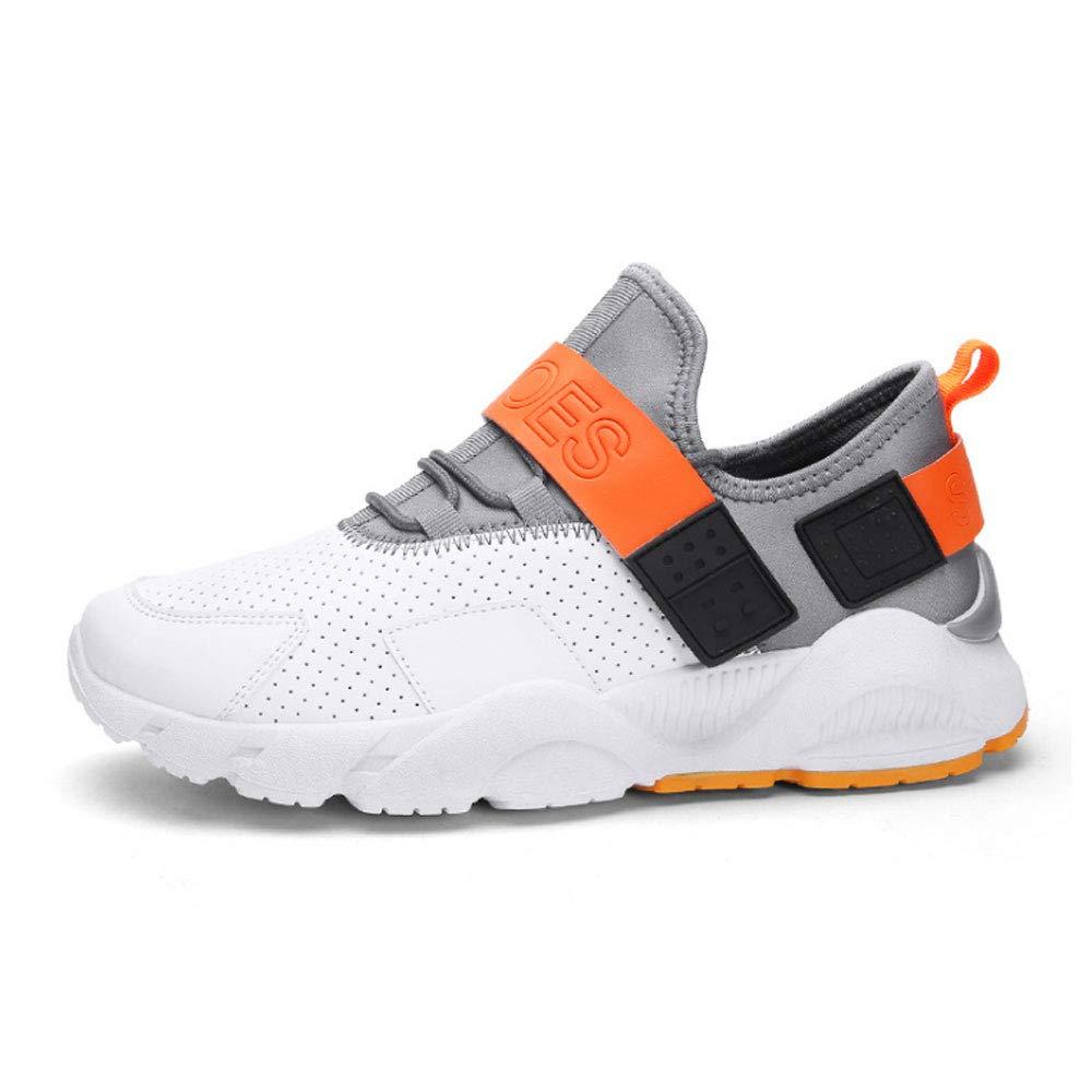YSZDM Zapatos para Correr para Hombres, Zapatos Deportivos de Cuero Transpirables Plantillas Antideslizantes Resistentes al Desgaste Plantillas para Correr al Aire Libre,Natural,42: Amazon.es: Hogar