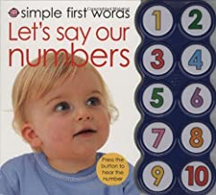 By Roger Priddy Simple First Words Let's Say Our Numbers (Ina Brdbk) [Board book]