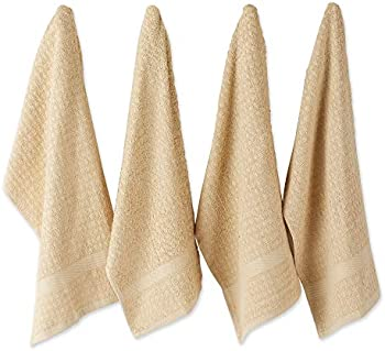 4-Set DII Cotton Waffle Terry Drying & Cleaning Kitchen Towels