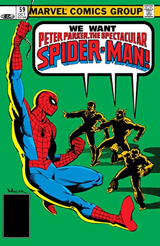 Download Peter Parker, The Spectacular Spider-Man (1976-1998) #59 (English Edition) B075QP3231