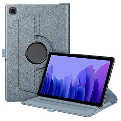 Fintie Hülle für Samsung Galaxy Tab A7 10,4 2020, 360 Grad verstellbare Schutzhülle Cover Hülle Tasche mit Auto Schlaf/Wach Funktion für Galaxy Tab A7 10.4 SM-T500/505/507 Tablet, Blau Grau