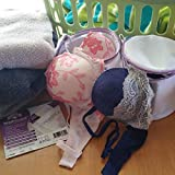 WashGuard Bra Wash Bags for Laundry - Double Layer Mesh Wash Bags Protects Expensive Bras in The Washer - No More Snags, Bent Underwire or Napping - Fits One or More A - D Cups - Double Pack