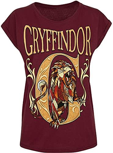 HARRY POTTER Gryffindor Mujer Camiseta...