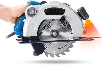 Tratamiento de la madera sierra circular eléctrica, 1500W 60mm 7 pulgadas multi-función de corte de la máquina doméstica pequeña sierra circular tirón