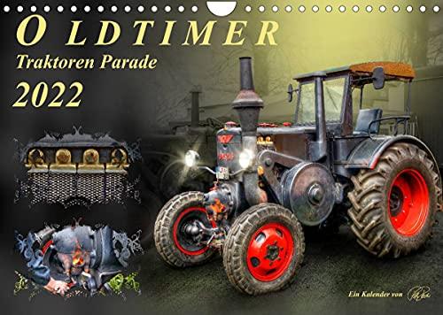 Oldtimer - Traktoren Parade (Wandkalender 2022 DIN A4 quer)