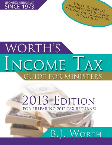 Download Worth Tax Guide 2013 Edition: For Preparing 2012 Tax Returns 1934233277