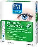 EyeMedica Euphrasia Augentrost, Euphrasia Augentropfen mit Hyaluron, zur Linderung bei gereizten Augen, für alle Kontaktlinsen geeignet, ohne Konservierungsstoffe, 1 x 10 x 0,4 ml Augen-Tropfen