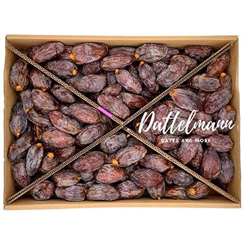 Medjool Datteln | 100% Natürlich & Gesund | Premium Qualität | Palmyra Delights | Mit Kern | süß | Soft | Weich | Vegan (5Kg)