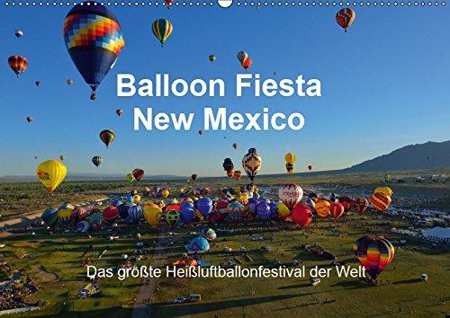 Balloon Fiesta New Mexico (Wandkalender 2019 DIN A2 quer): Das größte Heißluftballonfestival der Welt. (Monatskalender, 14 Seiten )